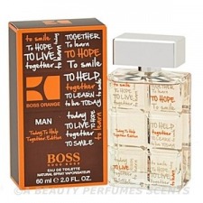 Hugo Boss Boss Orange man charity edition EDT 40 ml parfüm és kölni