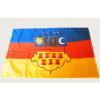 Hunbolt Erdély címeres 2 oldalas poliészter zászló 60x90 cm