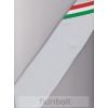 Hunbolt Ezüst szürke alapon nemzeti csíkos férfi nyakkendő