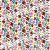 Hunbolt Kalocsai csomagoló papír 1x100x70 cm ív/tekercs, díszcsomagoló