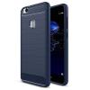Hurtel iPaky Huawei P10 lite Slim Carbon Flexible ujjlenyomatmentes hátlap, tok, kék