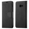 Hurtel Samsung Galaxy A3 (2017) Fancy oldalra nyíló hátlap, tok, fekete