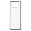 Hurtel Samsung Galaxy Note 8 N950 Metalic Slim TPU hátlap, tok, ezüst