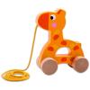 Húzható zsiráf fajáték