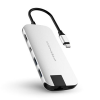 Hyper Drive SLIM USB Hub - Stříbrný