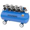 Hyundai Korea Hyundai HYD-200F 200 literes 8 Bar olajmentes, csendes kompresszor HYD-200F