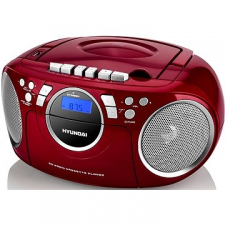 Hyundai TRC 788 AU3RS hordozható cd és kazettás rádió hangszóróval