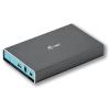 I-TEC MySafe USB-C Külső tok HDD-hez 2,5 &quot,