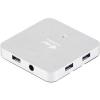 I-TEC USB 3.0 HUB 4 Fém töltőcsatlakozó