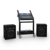 Ibiza DJ PA Set Rack Star Uranus Blues Bluetooth 250 Personen