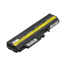 IBM ThinkPad T sorozat ThinkPad T42 laptop akkumulátor, új, gyárival megegyező minőségű helyettesítő, 6 cellás (4400mAh) toshiba notebook akkumulátor