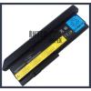 IBM ThinkPad X200S Series 6600 mAh 9 cella fekete notebook/laptop akku/akkumulátor utángyártott