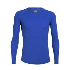 Icebreaker 150 Zone LS Crewe XL / kék férfi póló
