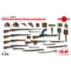 ICM WWI Russian Infatry Weapons and Equipment első világháborús orosz fegyverszett figura makett ICM 35672