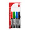 """ICO Alkoholos marker készlet, 1-3 mm, kúpos, ICO """"Permanent 11"""", 4 különböző szín"""