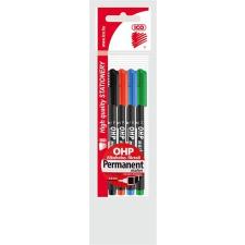 ICO Alkoholos marker készlet, OHP, 0,3 mm, S, ICO, 4 különböző szín filctoll, marker