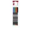 ICO Alkoholos marker készlet, OHP, 1-1,5 mm, M, ICO, 4 különböző szín [4 db]