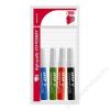 ICO Flipchart marker készlet, 1-3 mm, kúpos, ICO Artip 11, 4 különböző szín (TICA11V4)