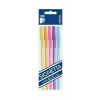 """ICO Golyóstoll készlet, 0,7 mm, kupakos, 5 különböző testszín, ICO """"Signetta Mix"""", kék (TICSIM01)"""