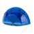 ICO Írószer és jegyzettömbtartó, ICO, áttetsző kék (TICILTTK)
