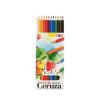 """ICO Színes ceruza készlet, hatszögletű, ICO """"Süni"""", 1"""