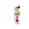 """ICO Színes ceruza készlet, vastag, ICO """"Süni"""", 6 szín"""