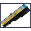 IdeaPad 121001095 4400 mAh 6 cella fekete notebook/laptop akku/akkumulátor utángyártott