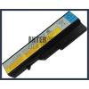 IdeaPad V370G 4400 mAh 6 cella fekete notebook/laptop akku/akkumulátor utángyártott
