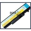 IdeaPad Y460P-IFI 4400 mAh 6 cella fekete notebook/laptop akku/akkumulátor utángyártott