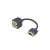 iggual VGA to Double VGA Adapter iggual IGG311615 0,2 m Male Plug Socket