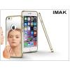 IMAK Apple iPhone 6/6S fém tükrös hátlap és keret - IMAK Mirror Zine - ezüst
