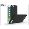 IMAK Apple iPhone 7/iPhone 8 hátlap - IMAK Sandstone Full 360 Super Slim - fekete