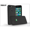 IMAK Apple iPhone 7 Plus hátlap - IMAK Ultra-Thin Leather - fekete