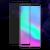 IMAK Huawei Honor Note 10 kijelzővédő edzett üvegfólia (9H, fekete), prémium minőség