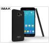 IMAK Samsung A710F Galaxy A7 (2016) hátlap - IMAK Sandstone Super Slim - fekete