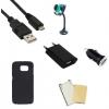 Indulócsomag MEGA, Samsung Galaxy J3 SM-J320, fekete szilikon tokkal