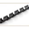 Inline spirál szalag kábelcsatorna, 10mm x 10m, fekete