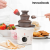 InnovaGoods InnovaGoods Sweet & Pop Times Csokoládéfondü Készítő 70W Fehér Acél
