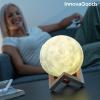 InnovaGoods Újratölthető LED Hold Lámpát Moondy InnovaGoods