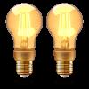 INNR LED lámpa , égő , INNR , izzószálas hatás , filament , 2 x E27 , 2 x 4.2 Watt , borostyán...