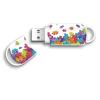 Integral USB Flash Drive Xpression Puzzle 8GB USB 2.0