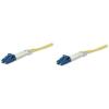 Intellinet Fiber optic patch cable LC-LC duplex 5m 9/125 OS2 singlemode