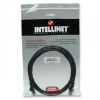 Intellinet Network Cable RJ45, Cat6 UTP, 3m Black, 100% copper