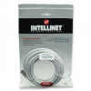 Intellinet Network Cable RJ45, Cat6 UTP, 3m White, 100% copper