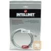 Intellinet patch kábel RJ45, kat.5e UTP, 2 m, fehér, 100% réz