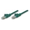 Intellinet UTP patch kábel, Cat5e, 0,5 m, INTELLINET, zöld KMA318167