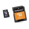 Intenso Micro-SD memóriakártya adapterrel INTENSO 3413480 32 GB 10 osztály