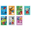 Interdruk Beíró -vegyes mintákkal- A6 96 lap Angry Birds Rio kockás <10db/csom>