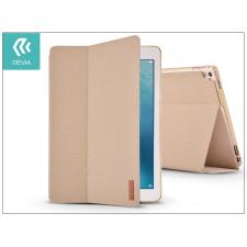 iPad Pro 10.5 (2017) védőtok (Smart Case) on/off funkcióval - Devia Flax Flip - gold tablet tok