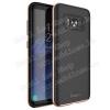 IPAKY mûanyag védõ tok / hátlap - ROSE GOLD - szilikon betétes - SAMSUNG SM-G955 Galaxy S8 Plus - GYÁRI